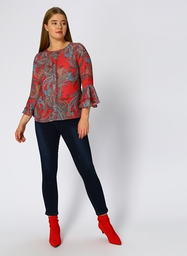 Ekol Bluz Kırmızı